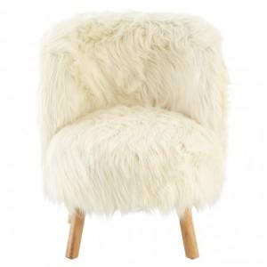 Chimes - Kids White Thea Chair