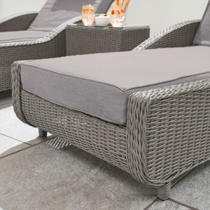 Nova - Heritage Slate Grey Madison Sun Lounger Set