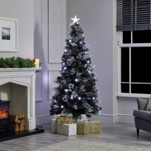 4ft Fibre Optic Deluxe Forest Pine Artificial Christmas Tree