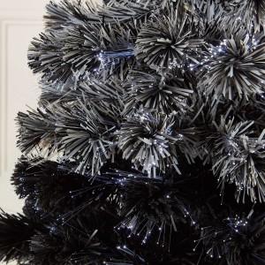5ft Fibre Optic Grey Eclipse Fade Artificial Christmas Tree
