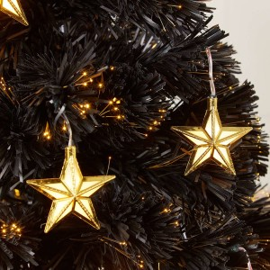3ft Fibre Optic Midnight Star Artificial Christmas Tree