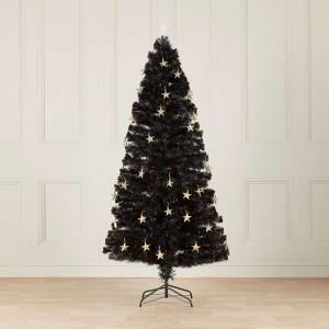 4ft Fibre Optic Midnight Star Artificial Christmas Tree
