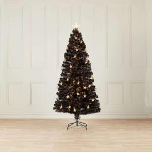 5ft Fibre Optic Midnight Star Artificial Christmas Tree