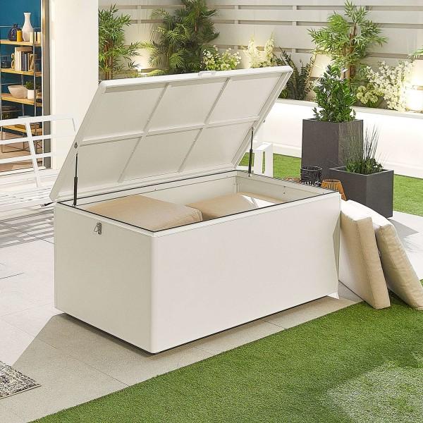 Nova - Large White Aluminium Storage Box