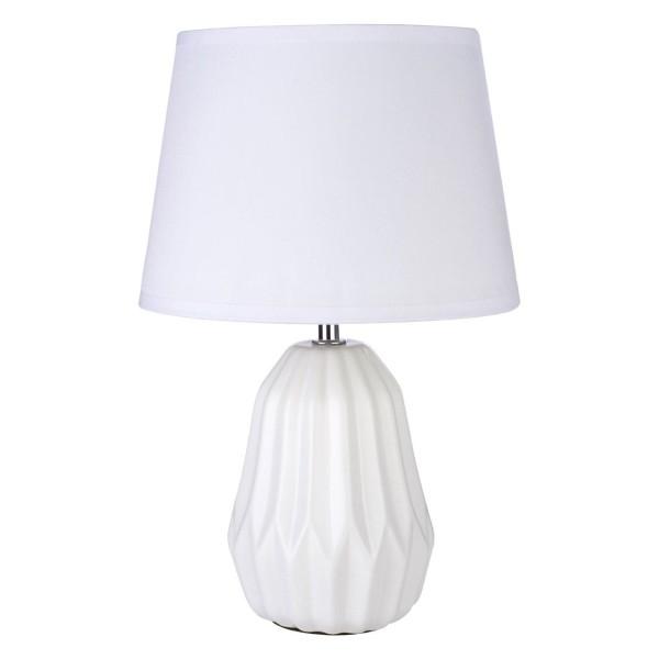 Chimes - Luna White Ceramic Table Lamp