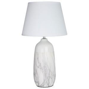 Chimes - Chelsea White Ceramic Table Lamp