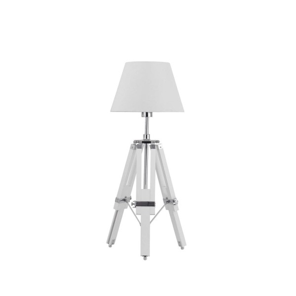 Chimes - Archie White Tripod Base Feature Lamp