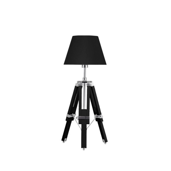 Chimes - Archie Black Feature Tripod Base Lamp