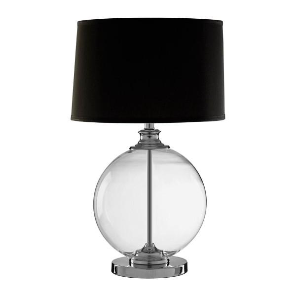 Chimes - Emeric Small Black Table Lamp