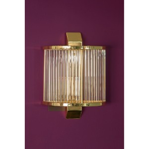 Chimes - Scarla Wall Light With Gold Finish