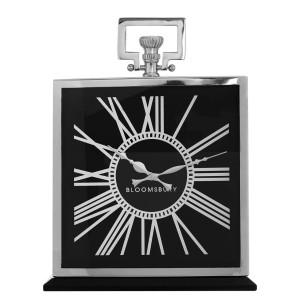 Chimes - Kensington Black Mantel Clock