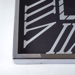 Chimes - Richmond Black Face Wall Clock
