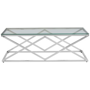 Chimes - Royalton Inverted Prism Base Coffee Table