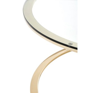 Chimes - Jubilee Corseted Round Champagne Coffee Table