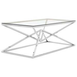 Chimes - Jubilee Corseted Stainless Steel Coffee Table