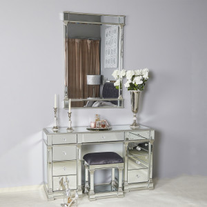 Chimes - Anne-Marie Silver Wall Mirror
