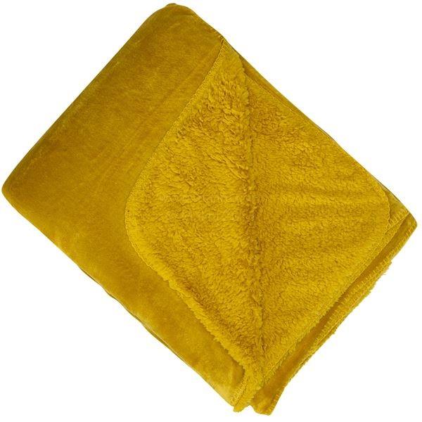 Cosy Throw Mustard