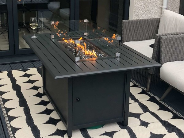 Aluminium Table Fire Pits