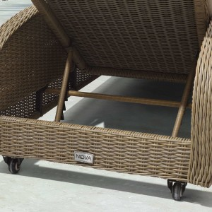 Chimes - Heritage Willow Madison Sun Lounger Set