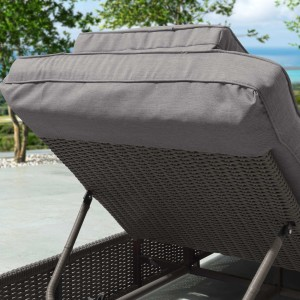 Nova - Heritage Slate Grey Rhodes Sun Lounger Set