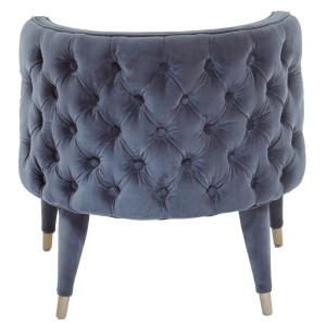 Chimes - Saxon Grey Feature Chair