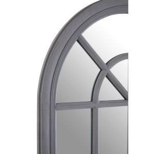 Chimes - Grey Window Wall Mirror