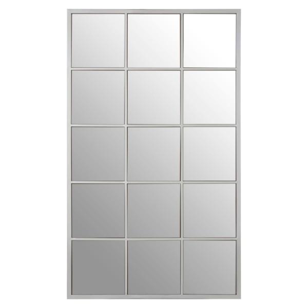 Chimes - Silver 15 Squares Wall Mirror