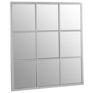 Chimes - Silver 9 Squares Wall Mirror