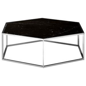 Chimes - Regency Silver Hexagonal Coffee Table