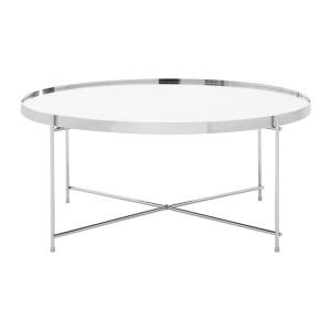 Chimes - Sasha Silver Mirror Coffee Table