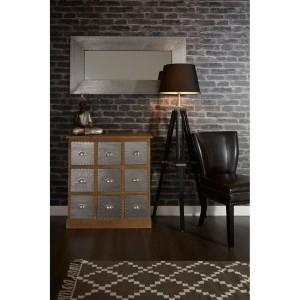 Chimes - Oliver Black Floor Lamp