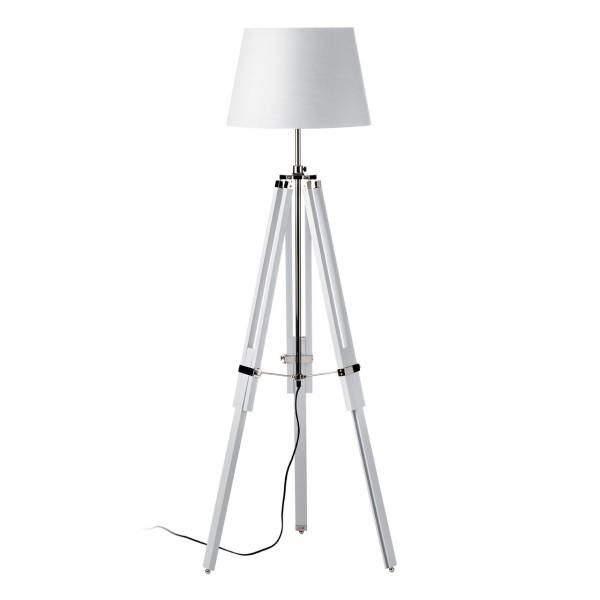 Chimes -Oliver White Floor Lamp